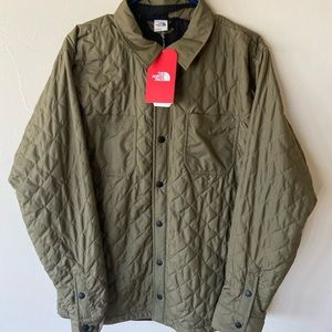 North Face FortPoint Insulated Flannel BurntOlive